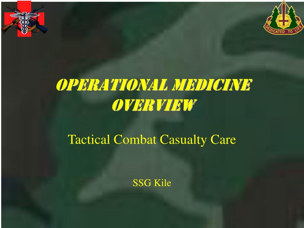 operational medicine overview l.