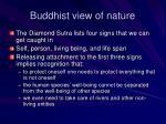 buddhist view of nature