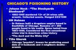 chicago s poisoning history