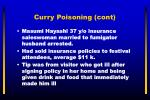 curry poisoning cont