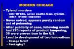 modern chicago