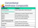 conventional antifreeze compounds