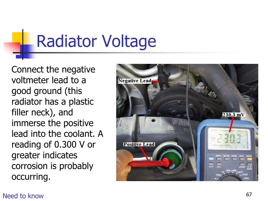 Radiator Voltage
