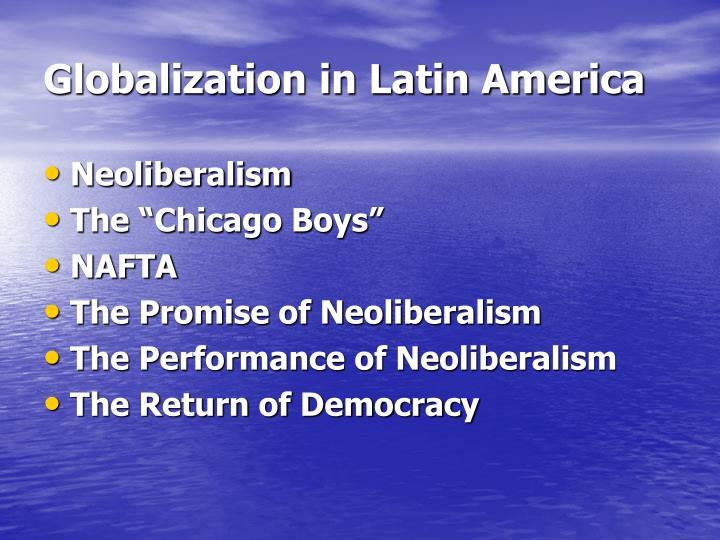 globalization in latin america n.