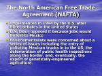 the north american free trade agreement nafta