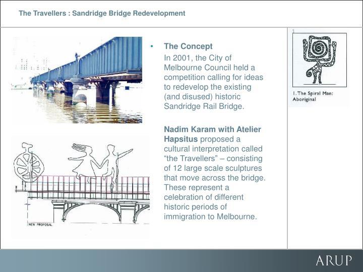 The travellers sandridge bridge redevelopment2