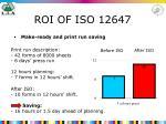 roi of iso 12647