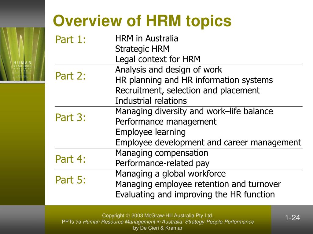 employee industrial relations and strategic hrm