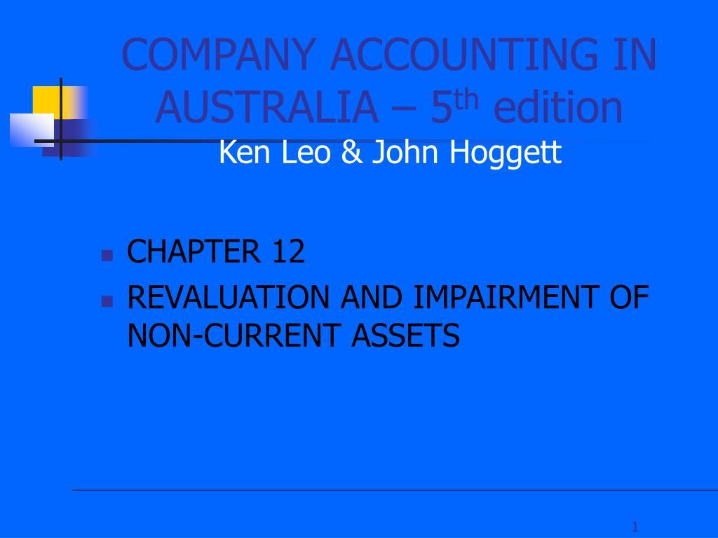 company accounting in australia 5 th edition ken leo john hoggett l.