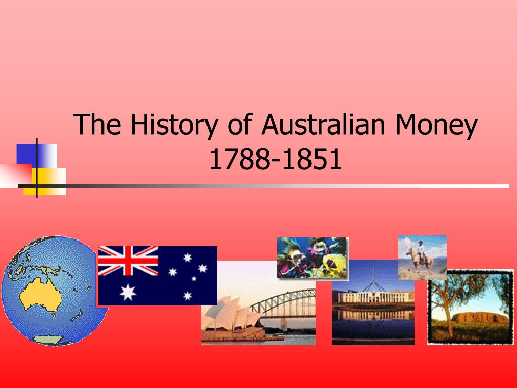 the history of australian money 1788 1851 l.