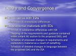 clarity and convergence