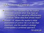 q a internal control1