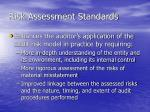 risk assessment standards1