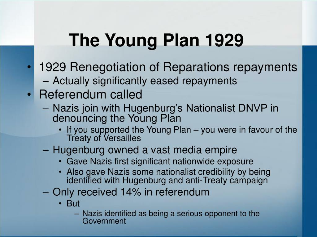 The Young Plan 1929