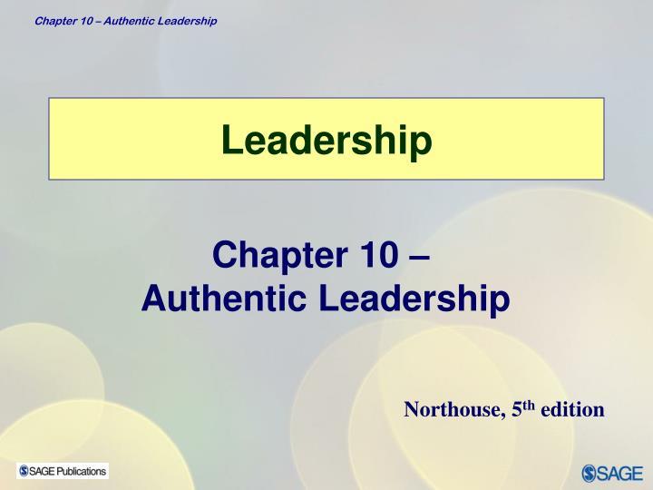 leadership n.