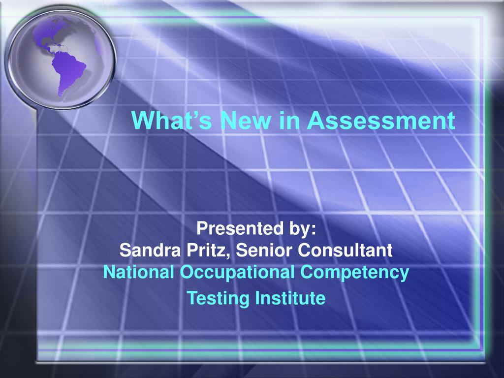 what s new in assessment l.
