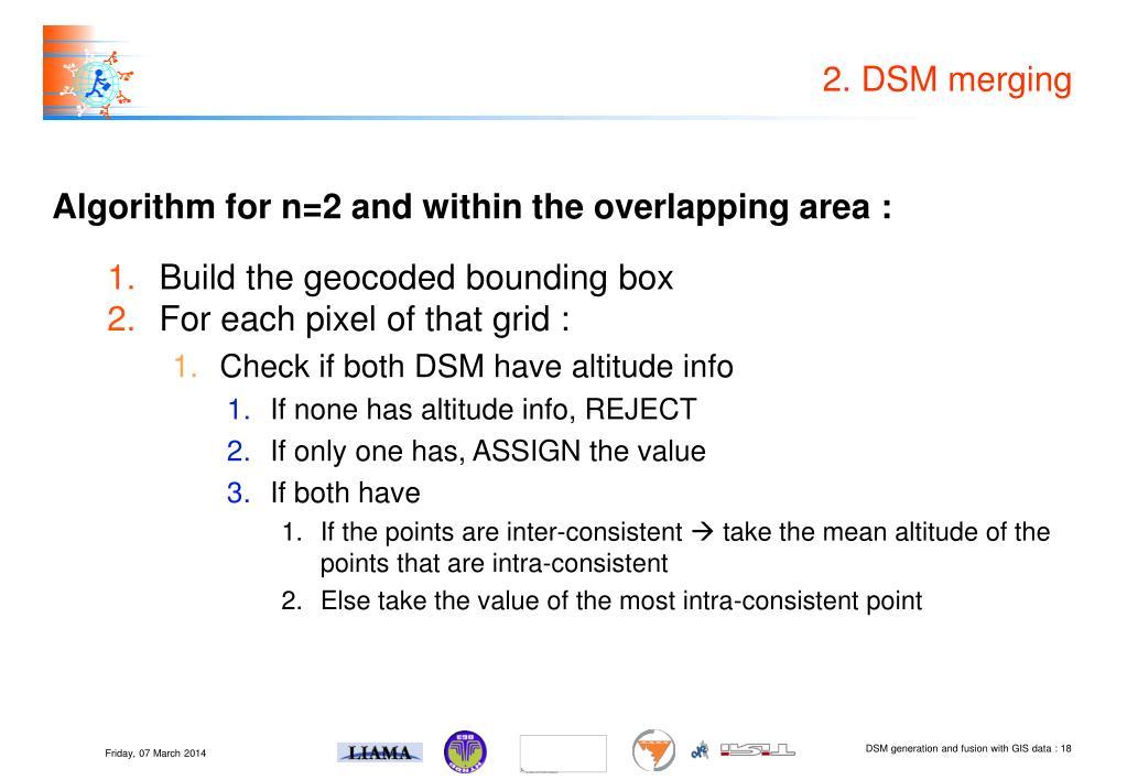 2. DSM merging