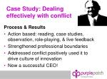 case study dealing effectively with conflict7