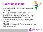 coaching in india
