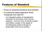 features of standard7