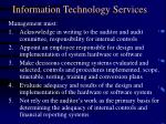 information technology services15