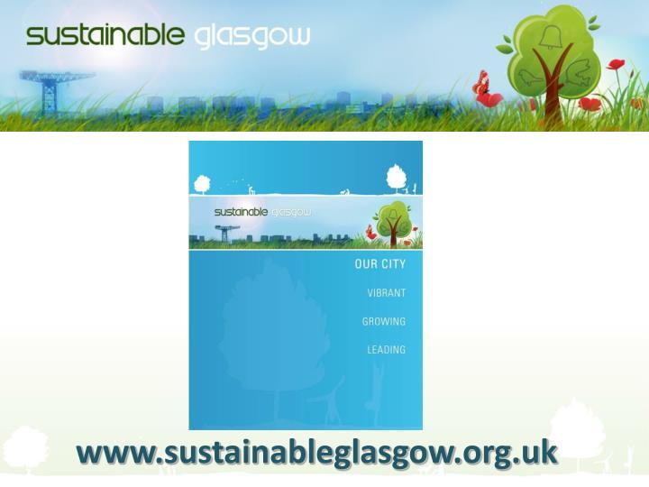 Www.sustainableglasgow.org.uk