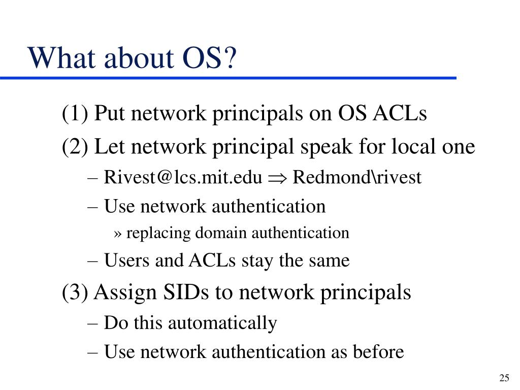 What about OS?