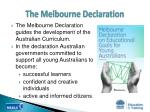 the melbourne declaration