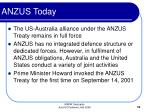 anzus today
