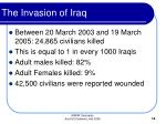 the invasion of iraq14