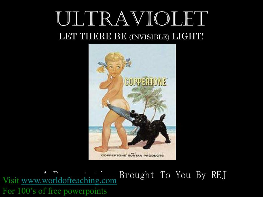 ultraviolet let there be invisible light l.