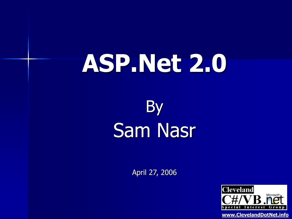 asp net 2 0 by sam nasr april 27 2006 l.