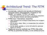 architectural trend the fitm
