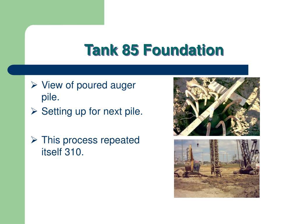 tank 85 foundation l.