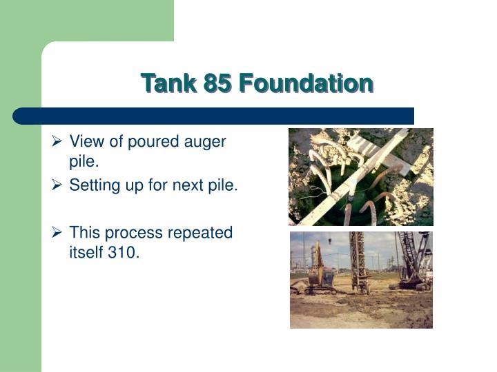 tank 85 foundation n.