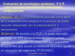 evaluaci n de tecnolog as sanitarias p c r como marcador pron stico de enfermedad cardiovascular