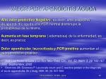 valor pcr apendicitis aguda