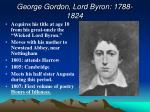 george gordon lord byron 1788 1824