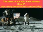 the moon or a studio in the nevada desert http www primeline america com moon ldg