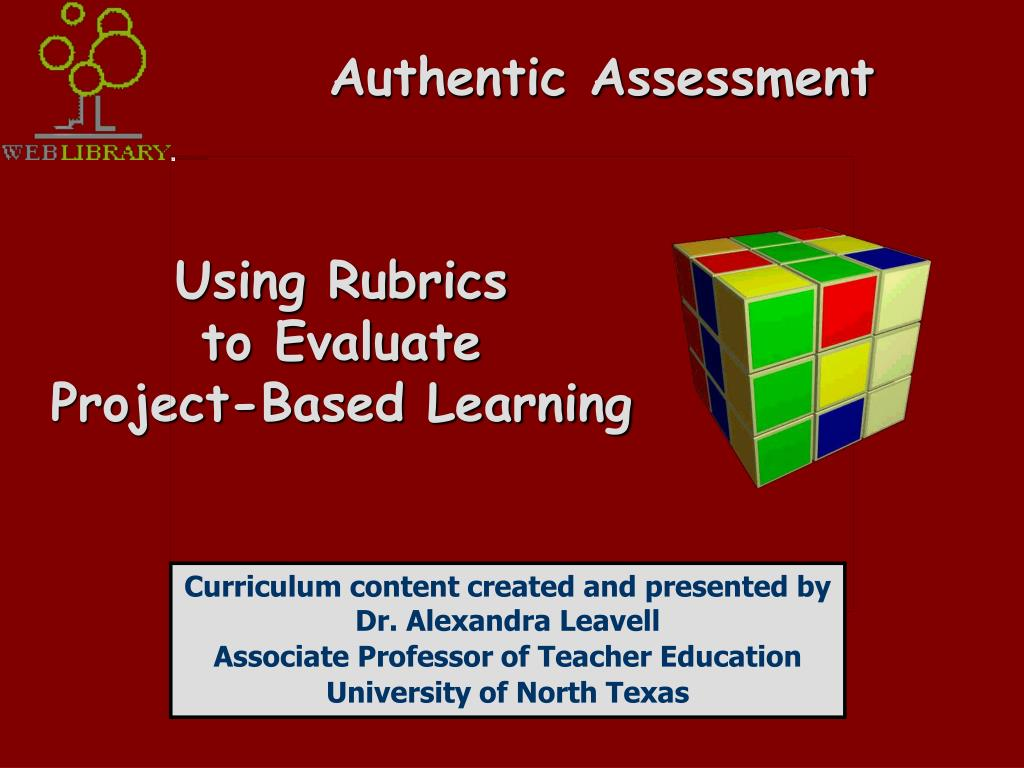 authentic assessment l.
