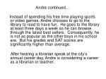 andre continued