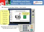 sharepoint and open platform how it works1