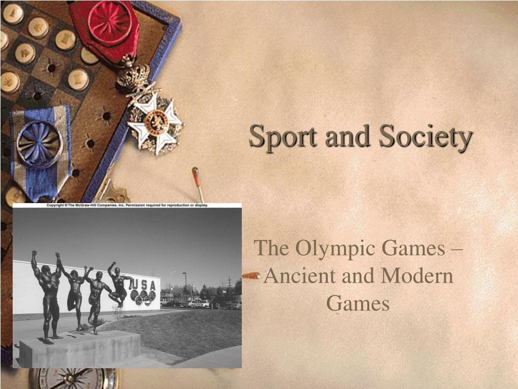 sport and society l.