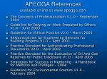 apegga references available online at www apegga com