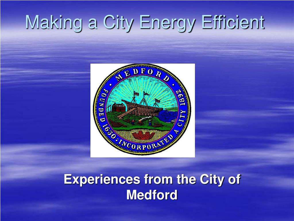making a city energy efficient l.