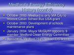medford s energy efficiency history cont d5