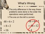 what s wrong3