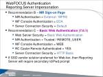 webfocus authentication reporting server impersonation17