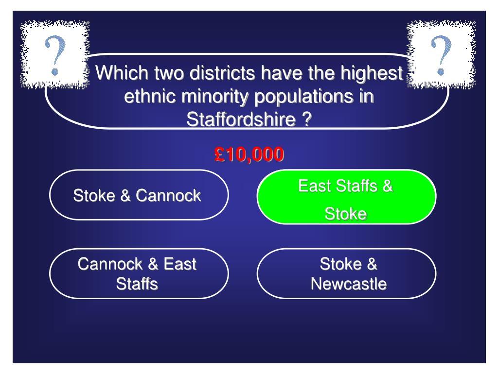 East Staffs & Stoke