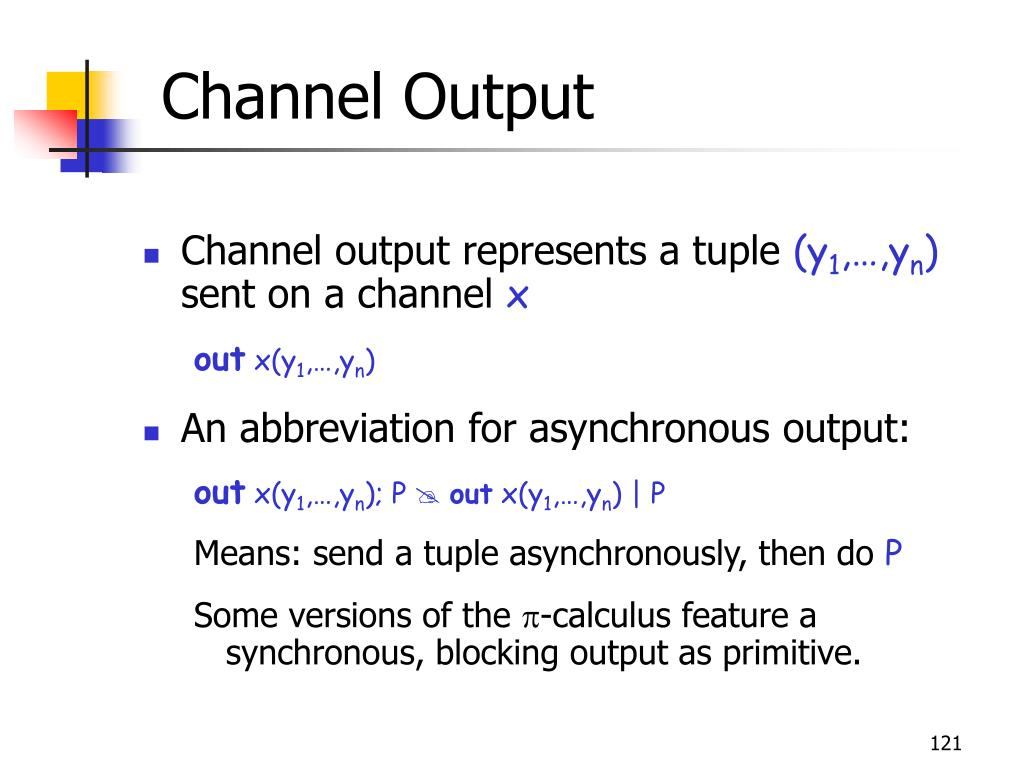 Channel Output